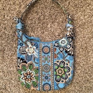 Vera Bradley Blue & Brown Handbag